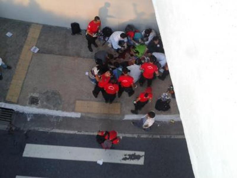 Morre jovem que caiu em viaduto durante protesto em BH