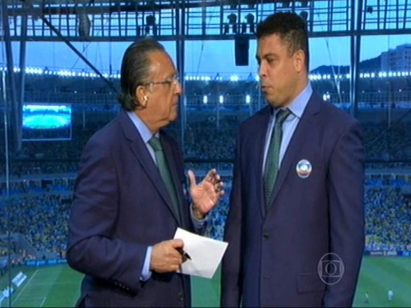 """Redundante, Ronaldo diz: """"100% das bolas para fora não resultam em gol"""""""
