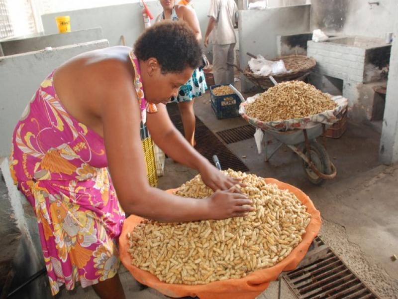 Vendedores de Amendoim no Pacto de Feira