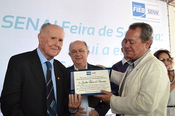 Inauguração de novo prédio do Senai homenageia Joselito Amorim