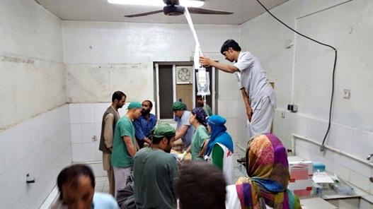 Sobe para 30 número de mortos em ataque a hospital dos Médicos Sem Fronteiras
