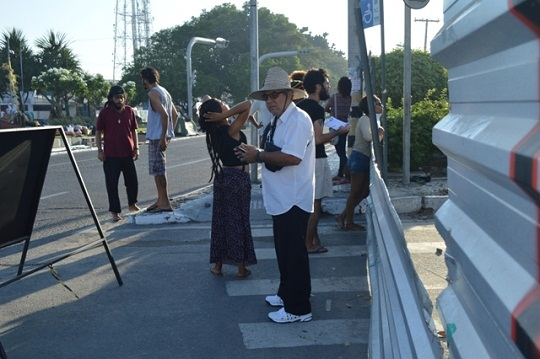 Prefeitura retoma obras do BRT e Guarda Municipal coordena saída de manifestantes