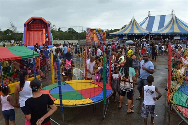 """Parque da Cidade vira """"mundo encantado"""" no Dia das Crianças"""