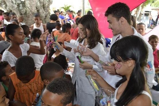 Feira de Saúde da Criança mobiliza população da Mantiba