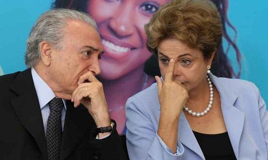 Viagens de Dilma e Temer datas diferentes evitam Cunha assumir Presidência