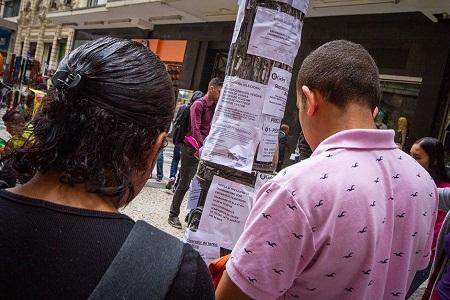 O País fechou 169 mil postos de trabalho com carteira assinada em outubro