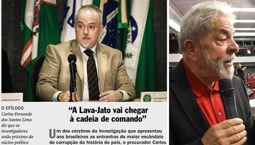 MP AVISA QUE LAVA JATO PODE, SIM, CHEGAR A LULA