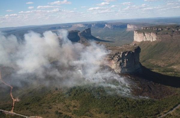 Responsável por Parque da Chapada Diamantina suspeita de incêndios criminosos
