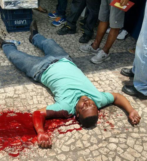 Vendedor ambulante é assassinado na Presidente Dutra