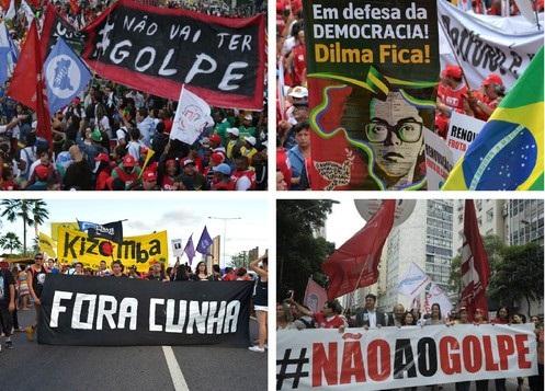 MOVIMENTOS SOCIAIS SE UNEM CONTRA O GOLPE