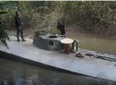 Pará: Traficantes constroem submarino para transportar drogas