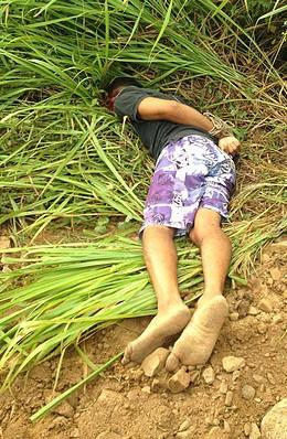Dois corpos amordaçados e executados a tiros são encontrados em Irará