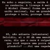 Mais do Jucagate: Dilma recusou acordão para melar Lava Jato e se proteger, e a Lula