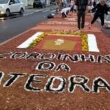Celebração de Corpus Christi em Feira de Santana