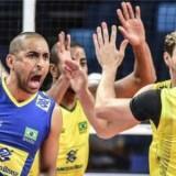 Brasil vence a Argentina na Liga Mundial de vôlei