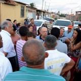 Conjunto habiacional Ildes Ferreira será 100% pavimentado, anunciou José Ronaldo