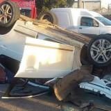 Casal morre e três pessoas da mesma família ficam feridas em acidente na BR-324