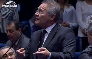 O ódio transformou o Senado em Câmara e Renan em Delcídio