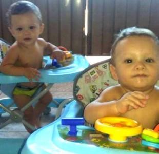 Gêmeos de 11 meses são mortos pelo ex-namorado da mãe deles