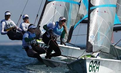 Brasil ganha ouro na vela com Martine e Kaena