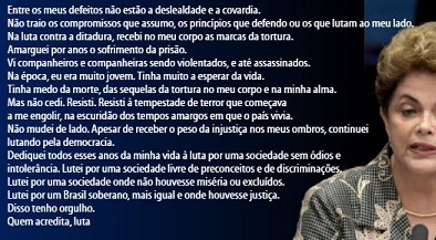Dilma sai grande do capítulo final de uma história de apequenamento