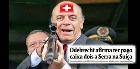 Serra virou Cunha e a moral política do país deixou de existir