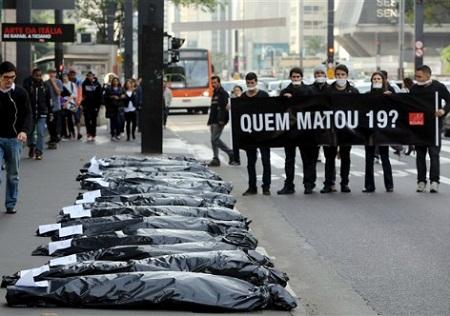 160 pessoas são mortas violenta e intencionalmente por dia no Brasil