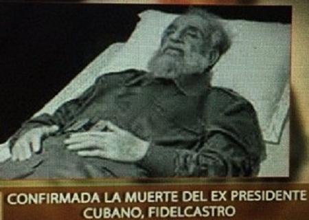 Raúl Castro fez o anúncio da morte do ex-presidente de Cuba Fidel Castro