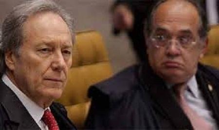 Gilmar Mendes e Lewandowski discutem feio no Supremo