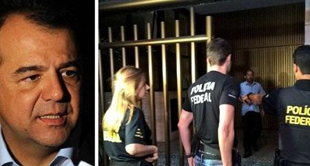 Sérgio Cabral foi preso no início da manhã de hoje acusado de desviar R$ 224 milhões