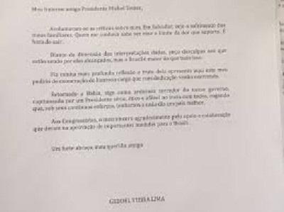 Geddel pede demissão do governo Temer