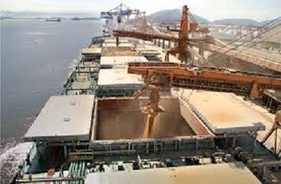 Queda de 61,5% nos embarques de soja no país