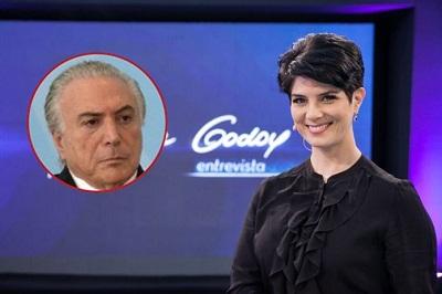 A entrevista de Mariana Godoy com Temer foi enfadonha ele continua sendo um zero a esquerda