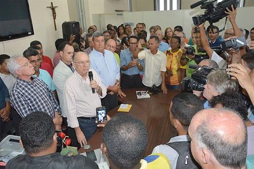 Os secretários do governo José Ronaldo de Carvalho para o seu quarto mandato
