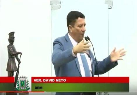 Vereador David Neto confirma que realizará graves denúncias na próxima semana