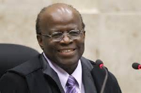Joaquim Barbosa no Jô