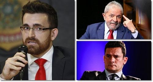 Lula processa advogado da Lava Jato e Sergio Moro lamenta