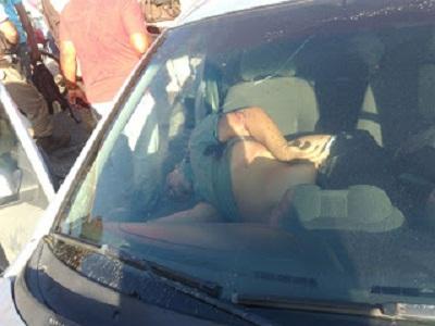 Homem que dirigia um Ford Kar com duas crianças é assassinado na Avenida Transnordestina
