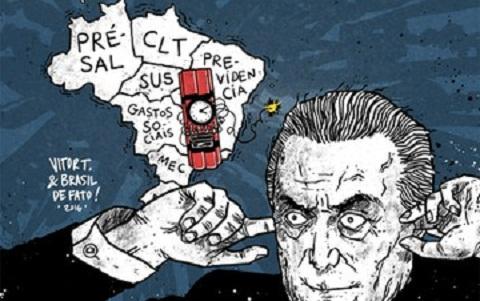 Juristas, intelectuais e movimentos sociais repudiam pacote de Temer
