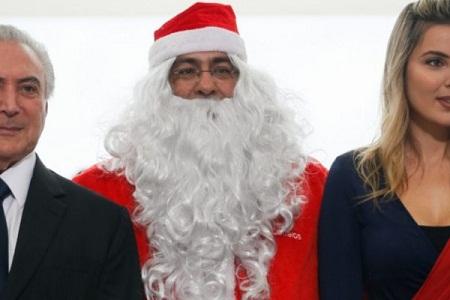 Carta do Papai Noel a Michel Temer. Por Jornalistas Livres