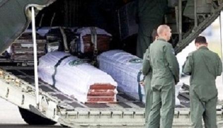 Primeiro avião com corpos das vítimas pousa em Chapecó