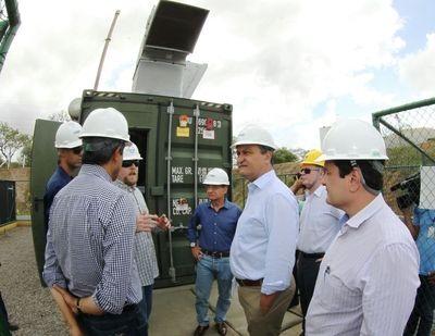 Inaugurada em Feira de Santana usina pioneira de energia de biogás