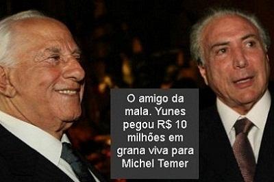 Da Odebrecht para Temer, em pleno Jaburu: R$ 10 milhões em dinheiro vivo