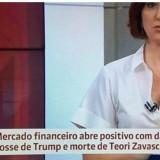 GLOBO DESPENCA AO CELEBRAR FESTA DO MERCADO COM A MORTE DE ZAVASCKI