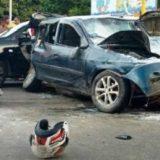 Seis feridos e um morto em acidente na Avenida João Durval