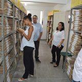 Secretario de Comunicação Valdomiro Silva e equipe visitam o Arquivo Municipal