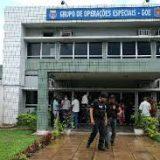 Presos policias acusados de se envolveram em roubos no centro de Fecife