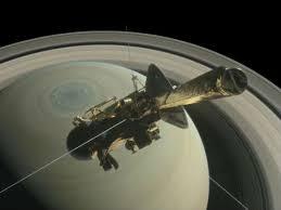 Nasa divulga imagens da atmosfera de Saturno