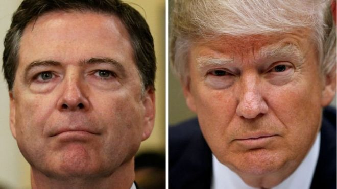 Por que Trump demitiu o chefe do FBI?