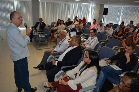 José Ronaldo participa de Workshop GMC na Caixa Econômica